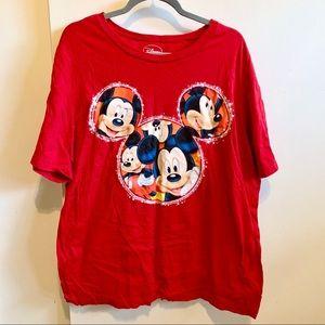 COPY - Disney Mickey Mouse Plus Size Shirt